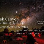 Oak Canyon Astronomy Group 2013