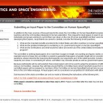Human Spaceflight call for papers