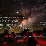 Oak Canyon Star Party
