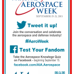 National Aerospace Week 2013 Poster