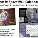 2015 Year in Space Wall Calendar