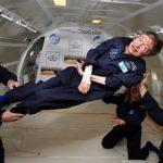 Stephen Hawking Takes Zero-G Rides